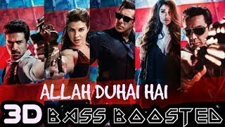 Allah Duhai Hai Remix - Race 3 || Bass || Salman Khan || Latest Bollywood Song