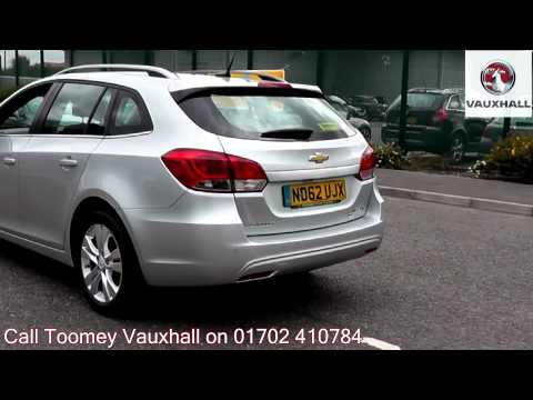 2013 Chevrolet Cruze LTZ 1.7l Silver ND62UJX For Sale At Toomey Vauxhall Southend