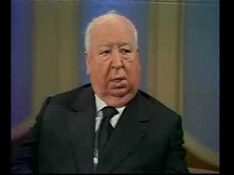 "Alfred Hitchcock- ""Puns are the highest form of literature"""