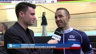 Mondiaux de cyclisme : la sensation François Pervis