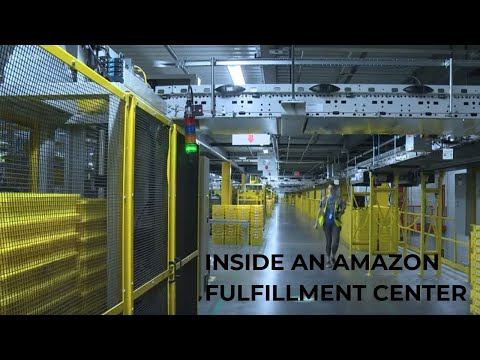 A Look Inside The Working Conditions Of An Amazon Fulfillment Center