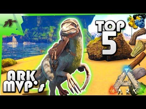 Top 5 Farming/Gathering Dinos- Ark Survival Evolved Xbox One- Kamz25