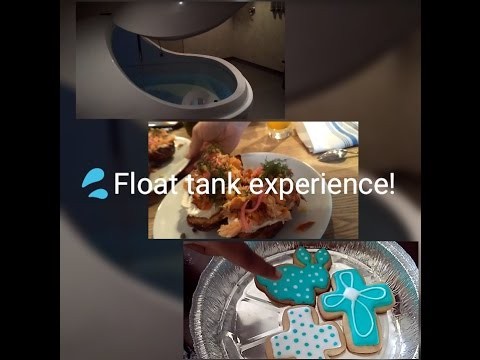 Ep. 3: Float Tank, Bad Service, & Easter Cookies! Life With