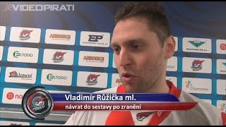 28. kolo: Vladimír Růžička po vítězném návratu do sestavy