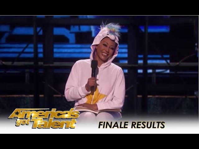 Mel B Tries STAND-UP Comedy For The First Time - Hows She? | Americas Got Talent 2018