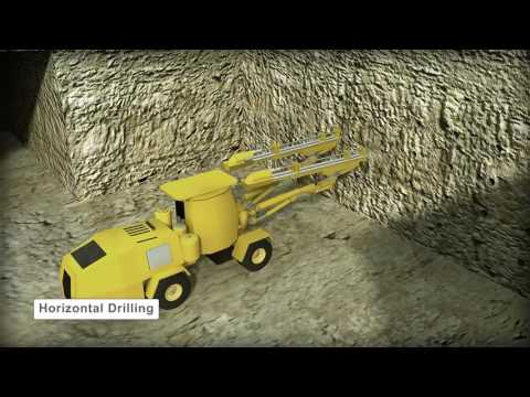 Mining Cut And Fill Mining Method 3d Animation