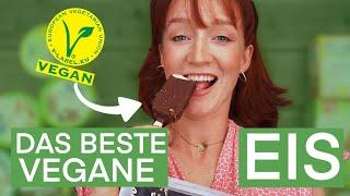 Die BESTEN veganen Eissorten aus dem Supermarkt