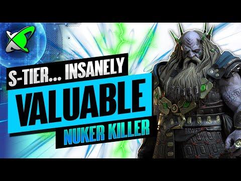 NUKER KILLER UNDERPRIEST BROGNI | Build, Guide & Masteries | S-Tier Champ | RAID: Shadow Legends