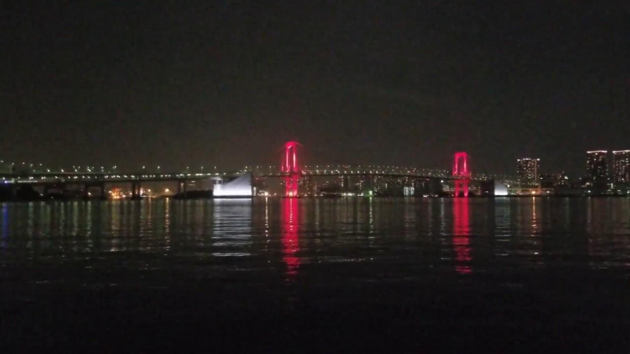 Tokyo Alert Red 23:00-24:00 2020-06-02 - Rainbow Bridge ...