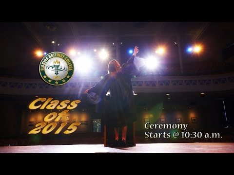 2015 First Graduation Ceremony - AA