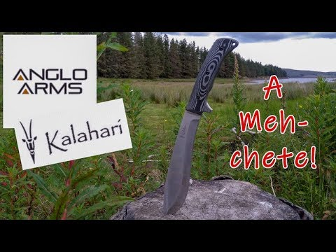 Anglo Arms Kalahari Machete Review, Bushcraft And Survival, Outdoor Testing