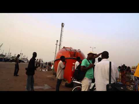Guinée Bissau port de Bissau / Guinea Bissau Bissau port