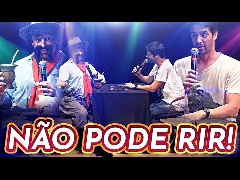 NÃO PODE RIR UTC no Teatro - com GAUDÊNCIO Cris Pereira