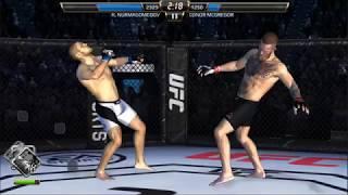 Conor Mcgregor vs Khabib Nurmagomedov Fight alternative real simulation game UFC android