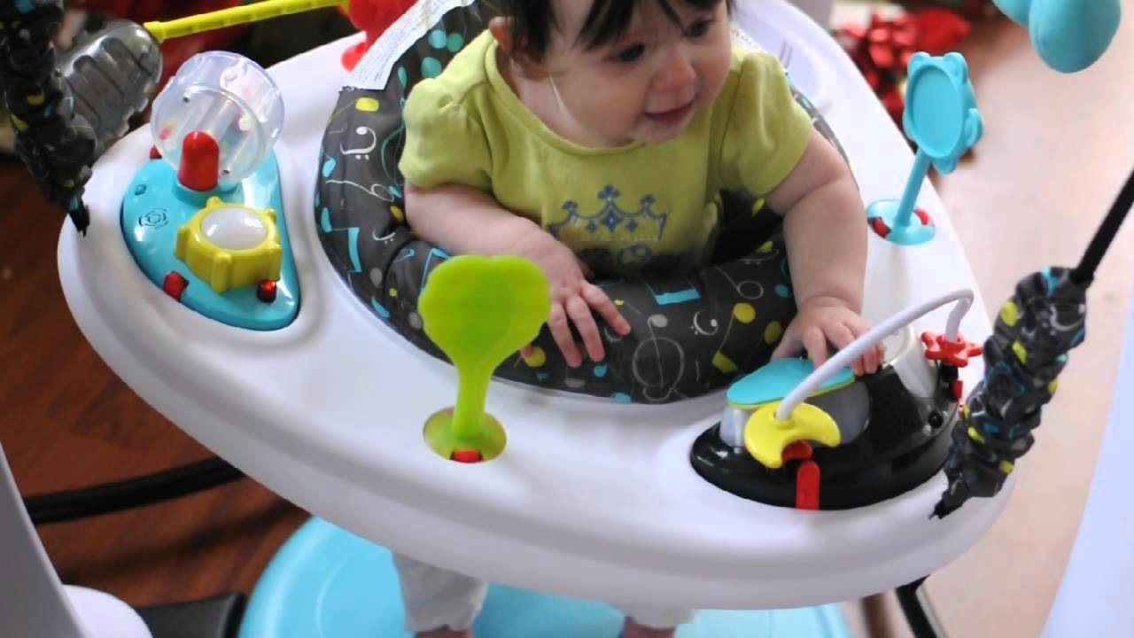 001b41656 Evenflo® ExerSaucer® Jump   Learn™ Jam Session Jumper - YouTube