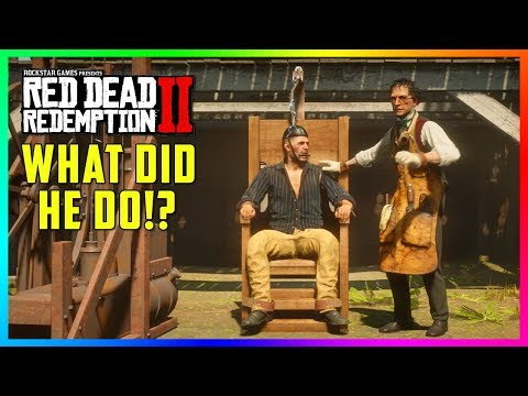 You WON'T Believe What This Outlaw Did In Red Dead Redemption 2 & Why He's In The Electric Chair! thumbnail