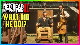 You WON'T Believe What This Outlaw Did In Red Dead Redemption 2 & Why He's In The Electric Chair!