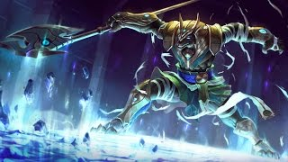 League of legends :  Nasus full AD + 1000 stacks