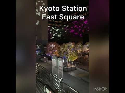 #Shorts 京都駅東広場  /  Kyoto Station East Square
