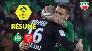 AS Saint-Etienne - Nîmes Olympique ( 2-1 ) - Résumé - (ASSE - NIMES) / 2019-20