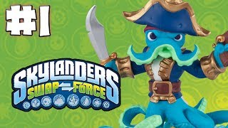 SKYLANDERS SWAP FORCE GAMEPLAY WALKTHROUGH - PART 1 - Swap Team