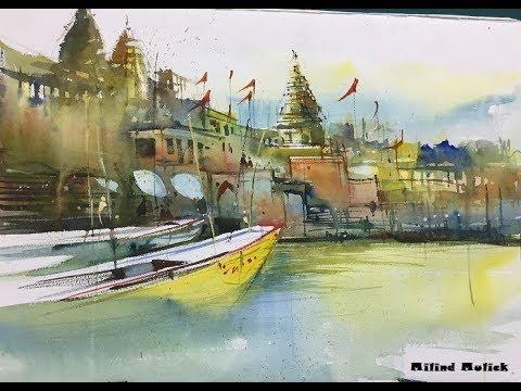 Milind Mulick Sir Varanasi Ghat Demo