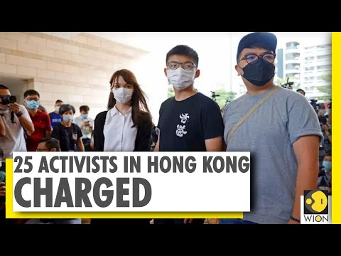 Joshua Wong and other 24 Hong Kong activists charged | WION News