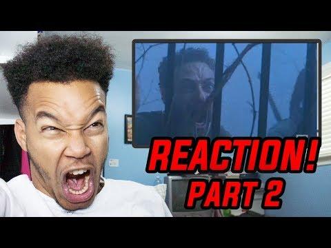 "THE WHISPERERS ARRIVE!? The Walking Dead Season 9 Episode 8 ""Evolution"" REACTION! (Part 2)"