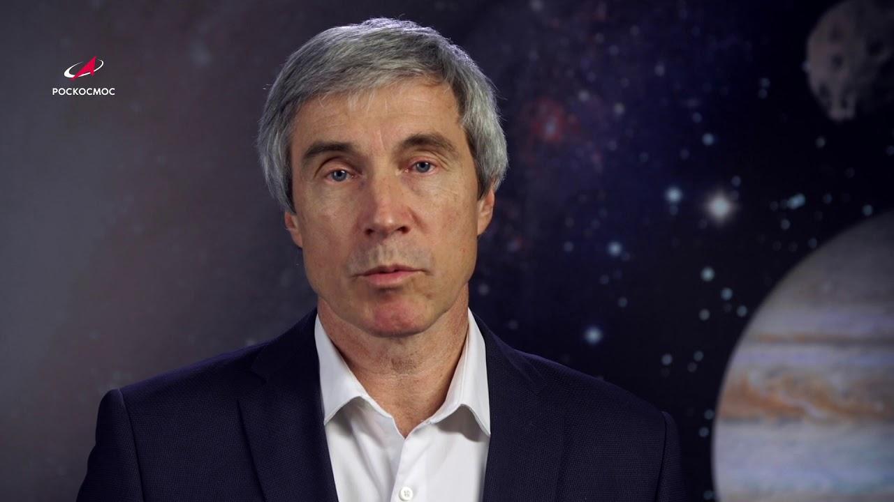 Обращение Сергея Крикалёва по случаю успешного пуска корабля Crew Dragon