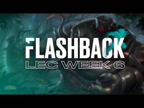 FLASHBACK|LEC 2019 Spring Split Week 6