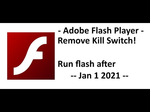 Running Flash Player after Jan 12 2021