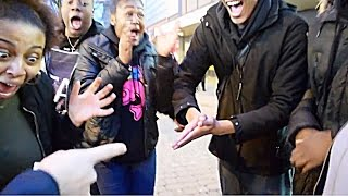Crazy Reactions of Black People vs White People To Magic PART 2
