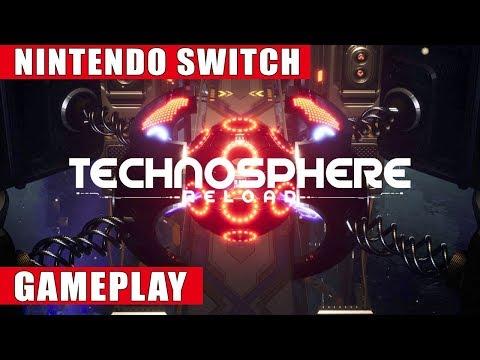 Technosphere Reload Nintendo Switch Gameplay