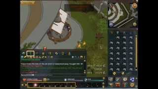 RuneScape - Burning Bones On A Bonfire F2P Guide (Cremation)