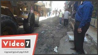 بالفيديو.. رئيس مركز ومدينة أوسيم: تمهيد الطرق ورصفها ببشتيل سينتهى قبل 30 يونيو