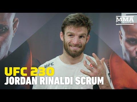 UFC 230: Jordan Rinaldi Explains Origin of Gnarly Crooked Finger - MMA Fighting