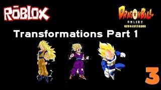 FSSJ, SSJ, SSJ2 AND MORE!!! | Roblox #3 (Dragon Ball Online) [Part 1]