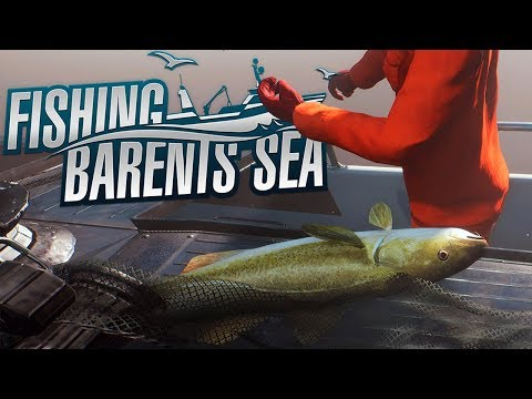 Fishing Barents Sea - Deep Sea Net Fishing - HUGE CATCH - Fishing Barents Sea Gameplay