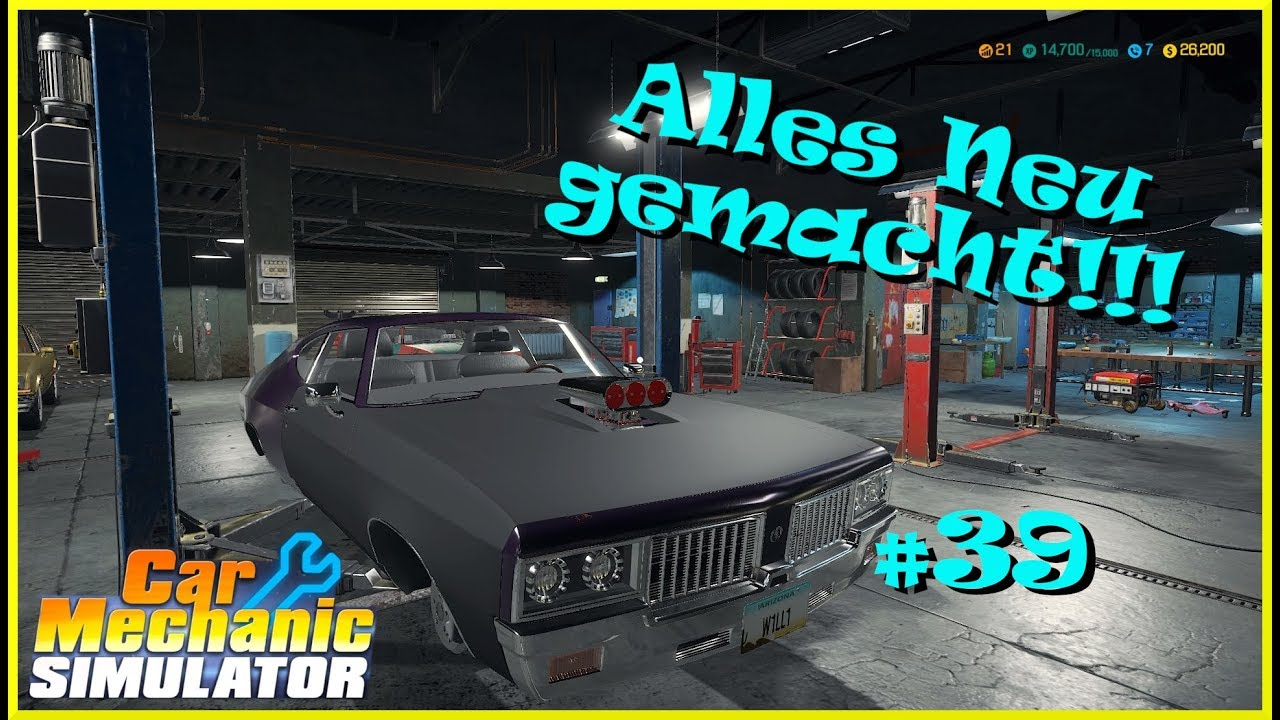 Let´s Play Car Mechanic Simulator | Autowerkstatt Simulator #39 PS4 deutsch