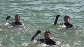 해군 특수부대 SSU 혹한기 내한훈련 영상 / 시사미래…