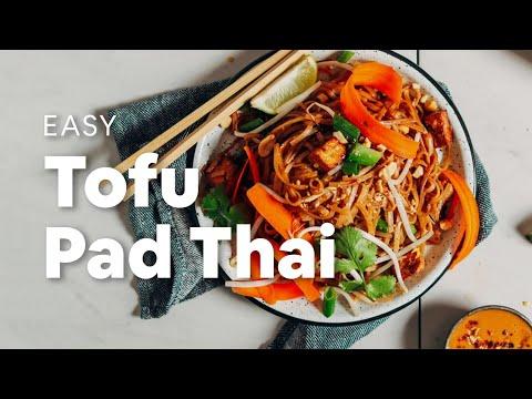 Easy Tofu Pad Thai   Minimalist Baker Recipes