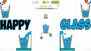 Game Happy Glass Level 1-30 (Android, iOS). Fun game for kids.