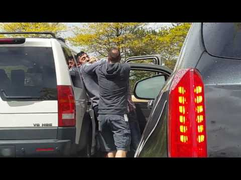 Road rage incident in Saanich caught on video