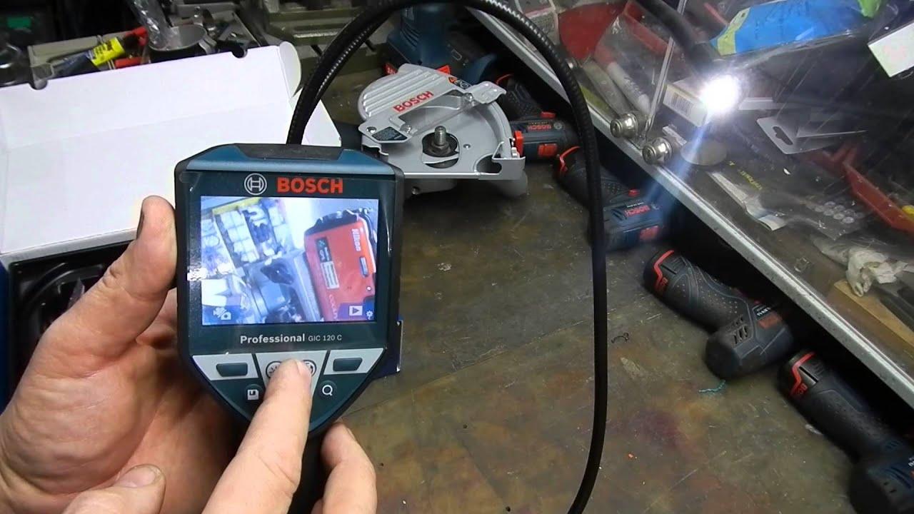Bosch professional gic c akku inspektionskamera ah akku