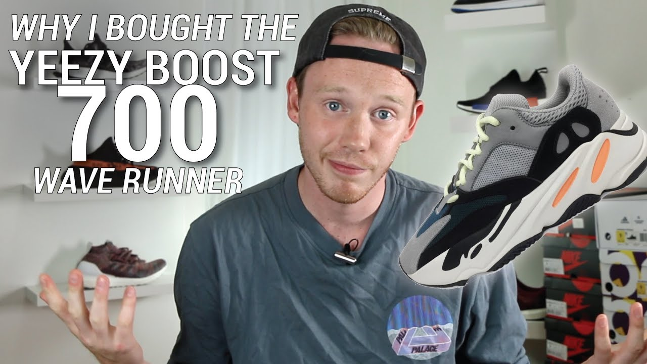 5a9b814ca WHY I BOUGHT THE ADIDAS YEEZY BOOST 700 WAVE RUNNER - YouTube