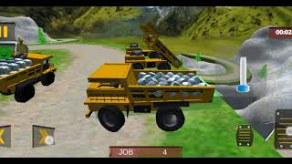 Máy cẩu máy xúc xe ủi  đào hầm phần 1