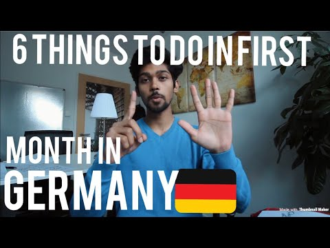 6 Things You Need To Get Right When You First Arrive In Germany