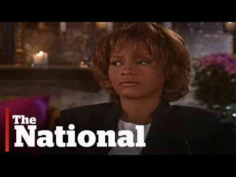 "An ""icy, tense"" Whitney Houston interview from 1998"