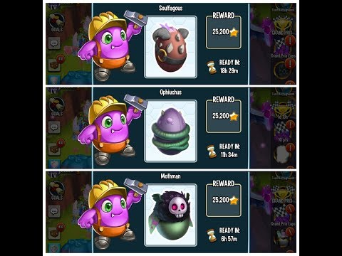 Monster Legends - How To Breed Epics Soulfaguos , Ophiucus And Mothman In  Ihtiander Breeding Event