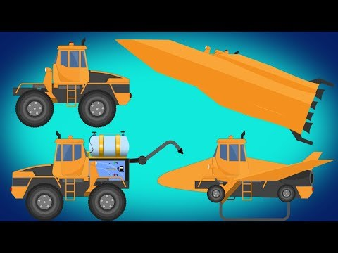 Kids TV channel | Transformer | Space Shuttle | Fuel Tank | Rocket | Video For Kids